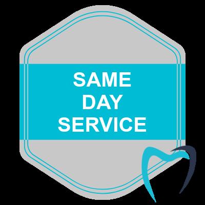 My Dentist at Morgan Creek - Same Day Service Badge