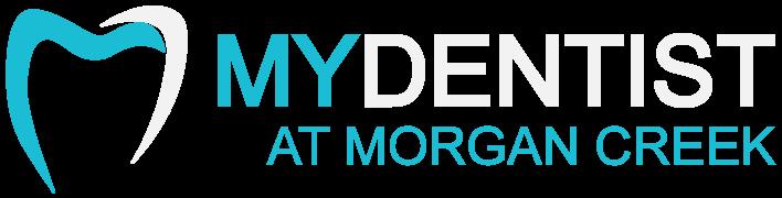 My Dentist at Morgan Creek - Logo White